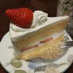 フランス菓子 ふじの木 - ショートケーキです