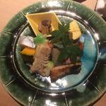 うち山 - 鯛茶漬け付きお弁当(ここにはご飯は無し)