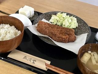 大福屋 - ロースかつ定食