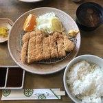 とんかつ八千代 - 料理写真:上とんかつ定食  1410円