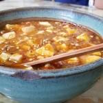 玉蘭 - 極辛マーボー麺。辛いもの好きにはたまりません。