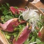 遊家 - 合鴨のタタキサラダ