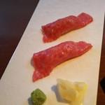 84161215 - 生肉のお寿司