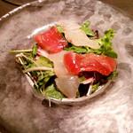 84161561 - 「旬魚と葉野菜のカルパッチョ」