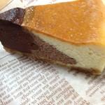 御菓子屋コナトタワムレル - 3層チョコチーズケーキ