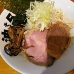 84162613 - 油そば辛+野菜