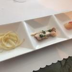 錦水 - 小前菜
