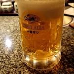 84164151 - 生ビール(一番搾り仙台工場)500円
