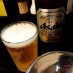 山形飛魚 亞呉屋 - 瓶ビール(スーパードライ)520円