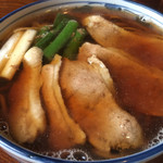 寿楽庵 - 鴨南蛮アップ