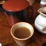 寿楽庵 - 蕎麦湯