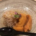 鮨 さかい - 毛蟹とバフンウニ