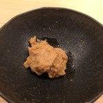 鮨 さかい - 鮟肝と奈良漬け