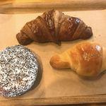 ベーカリー&テーブル 東府や - 店内で食べたパン
