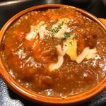神戸館 - 料理写真:とりトマ丼
