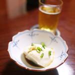 84169941 - お通しの豆腐