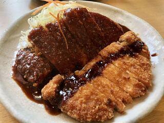 矢場とん 矢場町本店 - わらじとんかつ(定食)¥1600