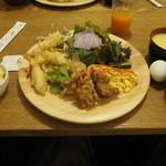 旬菜食健 ひな野 - 一皿目