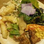 旬菜食健 ひな野 - 一皿目アップ
