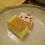 旬菜食健 ひな野 - ミニケーキ