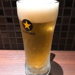 STEAK HOUSE WATAYOSHI - 生ビール