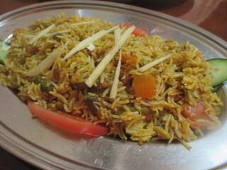 ガンディー - 野菜ビリヤニ