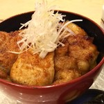 上州麦豚焼肉丼ランチ