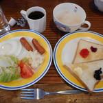 カサブランカ99 - 料理写真:朝食