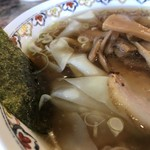 春木屋 郡山分店 - ワンタン麺(1000円)