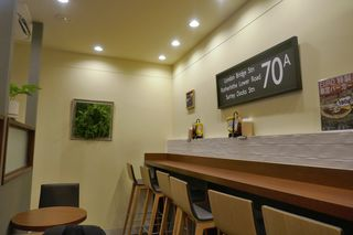 CAFE EURO - 静かなカフェスタイルな内装な店内でしばし待っていると