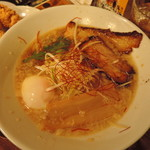 ご馳走らぁ麺 花梨 - 【ご馳走らぁ麺】810円