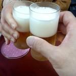 川崎増田屋 - 乾杯!
