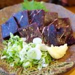 寿司と地魚料理 大徳家 - くじらの刺身