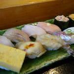 寿司と地魚料理 大徳家 - おまかせ握り