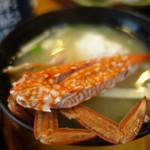 寿司と地魚料理 大徳家 - 蟹のお椀