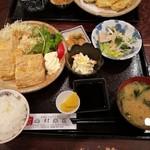 西村商店 - 卵焼き定食