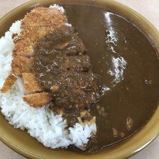 カレーの店 路 - 料理写真:辛口カツカレー850円