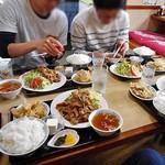 丸竹食堂 - 料理写真:焼肉定食