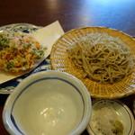 賀久 - 料理写真:桜えびかき揚げ天せいろ