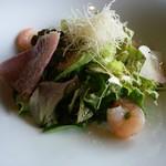 イトウ ダイニング バイ ノブ - 箱根西麓野菜のサラダ