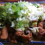 竹の子食堂 - うまのモツ煮アップ