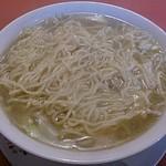 ごんべい - 野菜ラーメンの麺