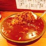 一品料理 ひとしな - ハヤシライス モリモリ(笑)