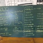 84184704 - メニュー☆