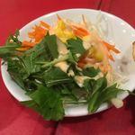 アクバル - サラダも当然食べ放題。
