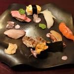 84188762 - おまかせ寿司9貫