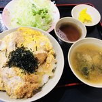 三州屋 - フルかつ丼