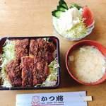 かつ将 - 料理写真:ソースカツ重(ヒレ)定食