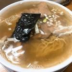 ラーメン ゆきがや - 煮干し塩ラーメン・中(700円)