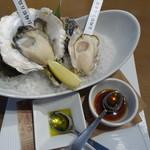 オイスターハウス静岡 - 真牡蠣・岩牡蠣食べ比べランチセット2000円